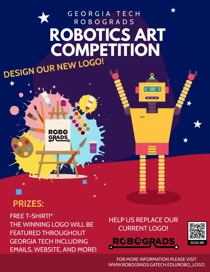 Robotics Art Competition Flyer